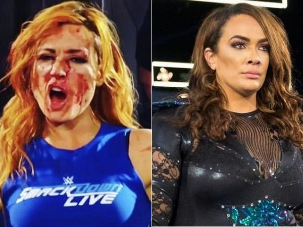 Becky Lynch had a concussion after getting a sucker punch from Nia Jax