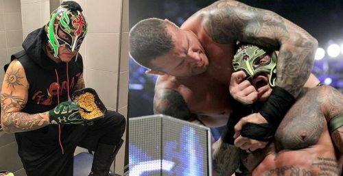 Rey Mysterio has always proudly represented his Luchador traditions in WWE, and he'd surely be looking to avenge his unmasking at the hands of Randy Orton