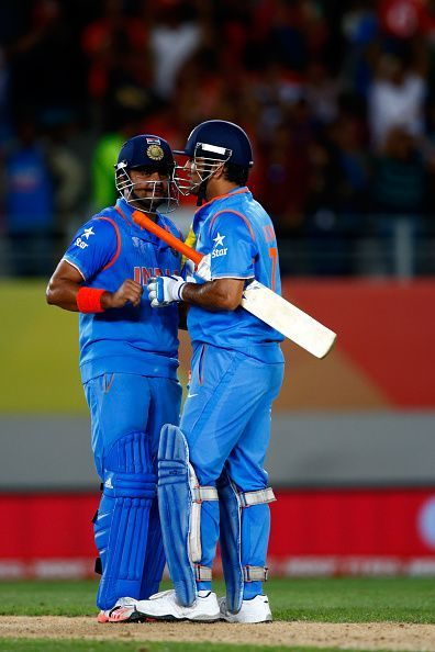 Raina played a fantastic knock along with Dhoni to win the game for India