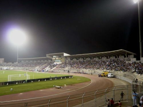 The game will be played under floodlights in the King Abdullah Stadium