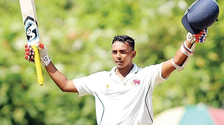 YOUNGEST INDIAN PLAYER TO SCORE A TON ON HIS DEBUT MATCH