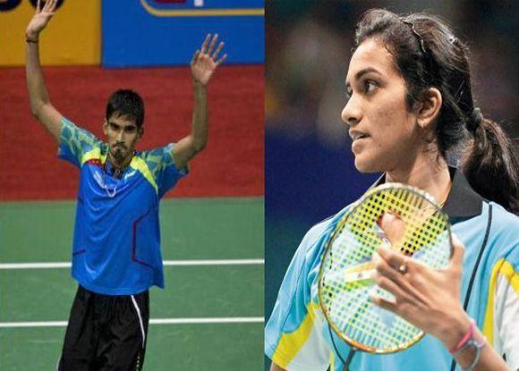 PV Sindhu and Kidambi Srikanth lose in quarter finals