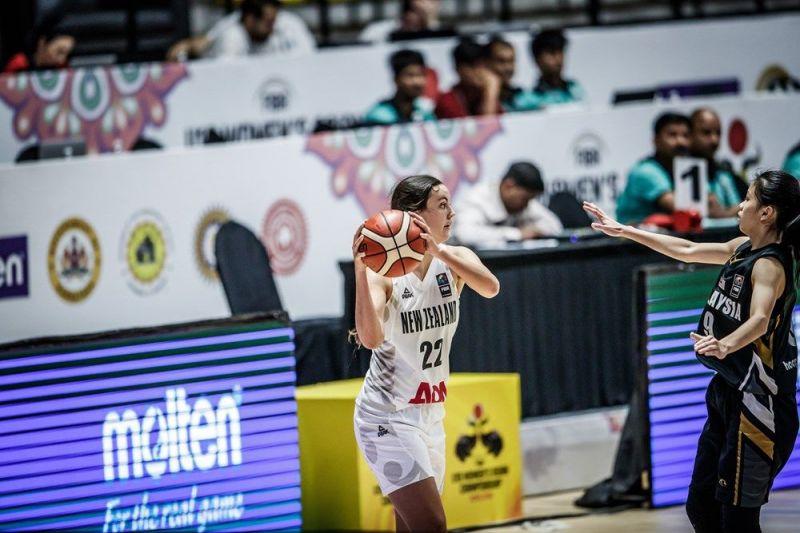 Ella Bradley of New Zealand (Image Courtesy: FIBA)
