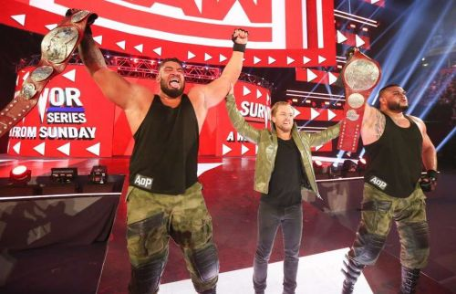 Authors of Pain win the Tag Team Titles on RAW