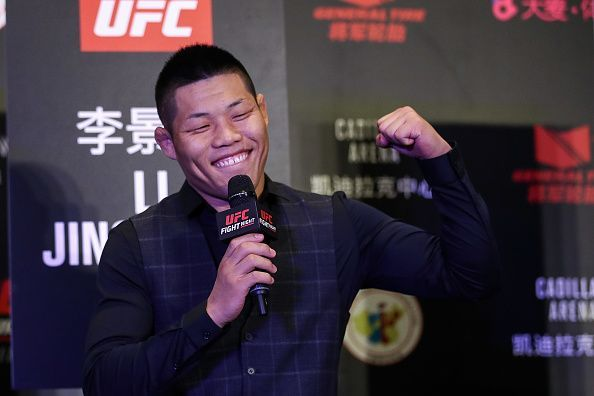 Li Jingliang is excited to be representing his home country in the UFC