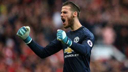 David de Gea: United's player of the year for four out of the last five years
