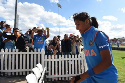 The hitting was incredible and the sixes unbelievably monstrous, making Harmanpreet Singh the first Indian woman to record a century in the format