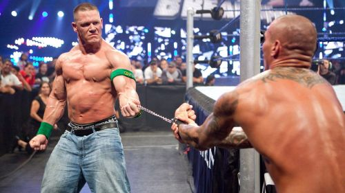 These two superstars had an outstanding rivalry