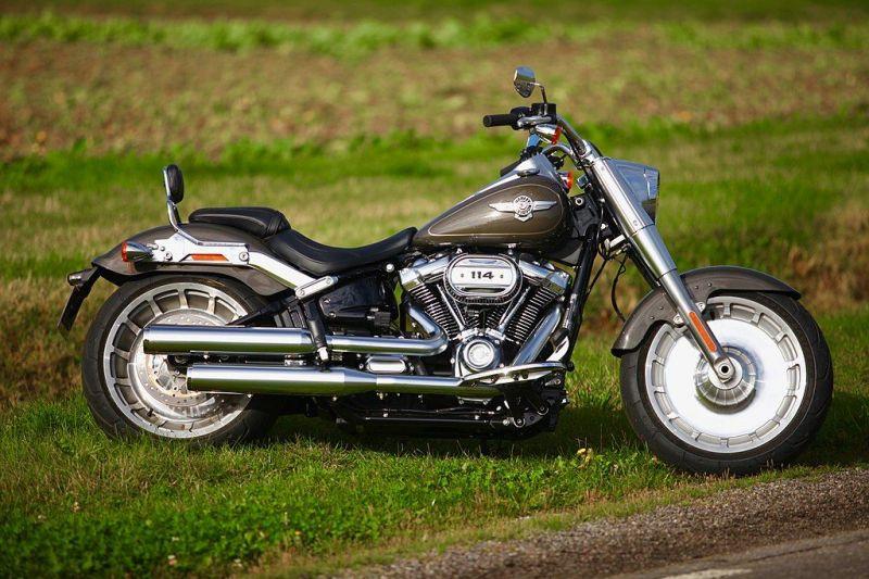 Harley-Davidson Fat Boy: (Image Courtesy: Wiki/Nitot - Own Work)