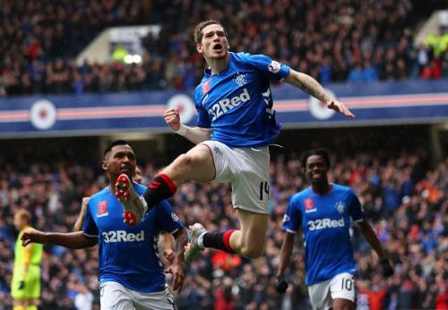 Ryan Kent is enjoying his spell at the Ibrox Stadium.