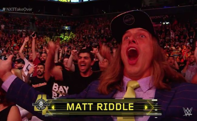 Matt Riddle and Kassius Ohno opened the show at WarGames