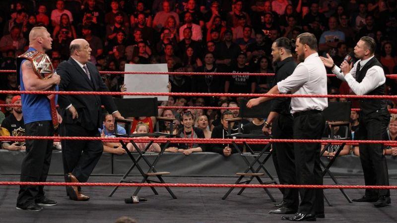 O Miz vs Brock Lesnar seria um novo emparelhamento
