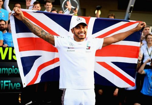 Hamilton is fresh off becoming World Champion yet again