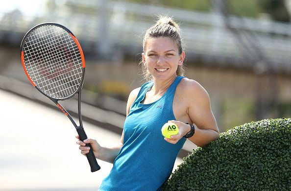 Simona Halep - the present WTA World Number 1