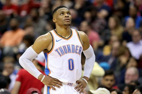 Russell Westbrook is the only currently active player on the list