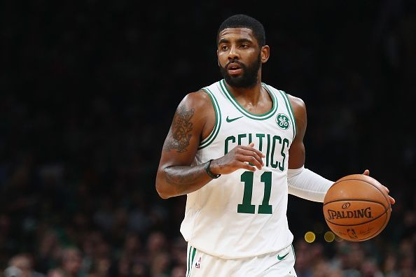 The Celtics would surely be unwilling to trade Irving for Davis