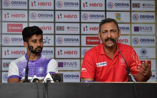 FIH Men's Hockey World Cup: India Captain's Press Conference