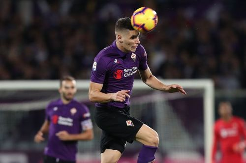 Jose Mourinho is interested in bringing Fiorentina defender Nikola Milenkovic to Old Trafford in the coming winter