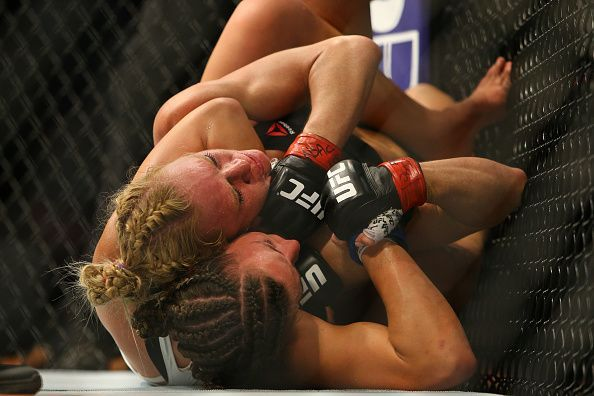Miesha Tate left Holly Holm incapacitated