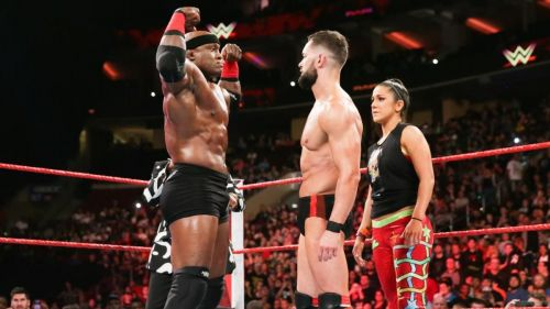Finn Balor versus Bobby Lashley. Who wins this time?