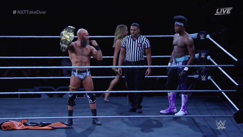 Velveteen Dream getting ready for the match of his career