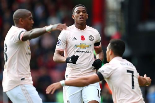 Martial brought United back in the game, and he has been collecting up quite some steam before big games against Juventus and Manchester City coming up next.