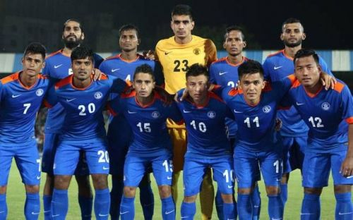 The Indian Football team is currently ranked 97th in the world.
