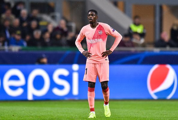 Dembele needs to tackle his consistency issues at Barcelona