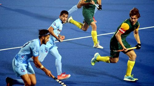 India starts the Hockey World Cup with crushing 5-0 Enter caption