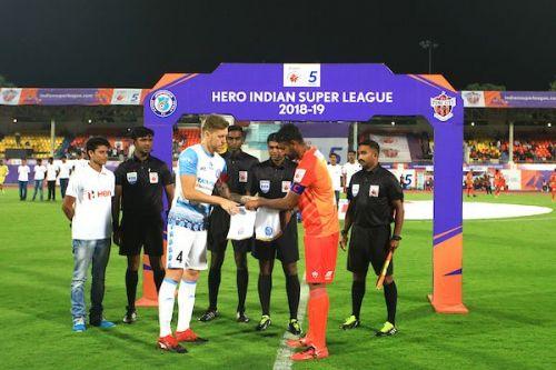 Pune faced off against Jamshedpur