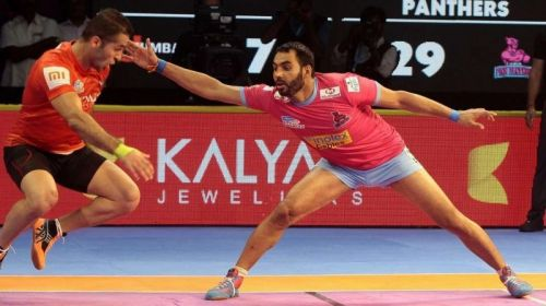 He was the highest points scorer in the inaugural edition of PKL and led U Mumba to the final where they lost narrowly to Jaipur Pink Panthers
