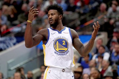 Jordan Bell is among the reserves that have not stepped up this season
