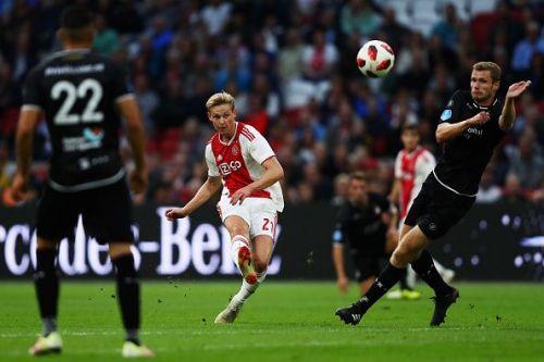 The Ajax midfielder is on Manchester City's radar