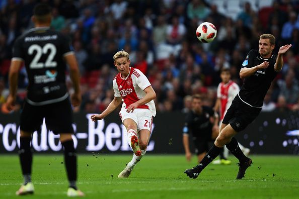 The Ajax midfielder is on Manchester City