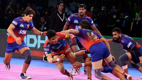 Shrikant Jadhav top scored for UP