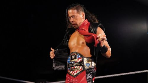 The king of low blows and the United States champion, Shinsuke Nakamura