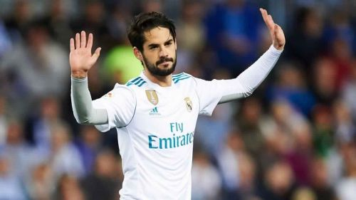 Isco will be looking to get more time on the field