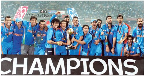 India been one of the few sides to win multiple World Cups