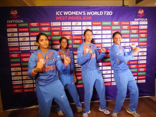 Indian Women are showing some moves ahead of the ICC World T20