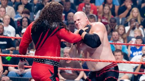 Kane faces his double in 2006.
