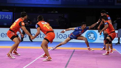 The Bengaluru Bulls' defense came to the party