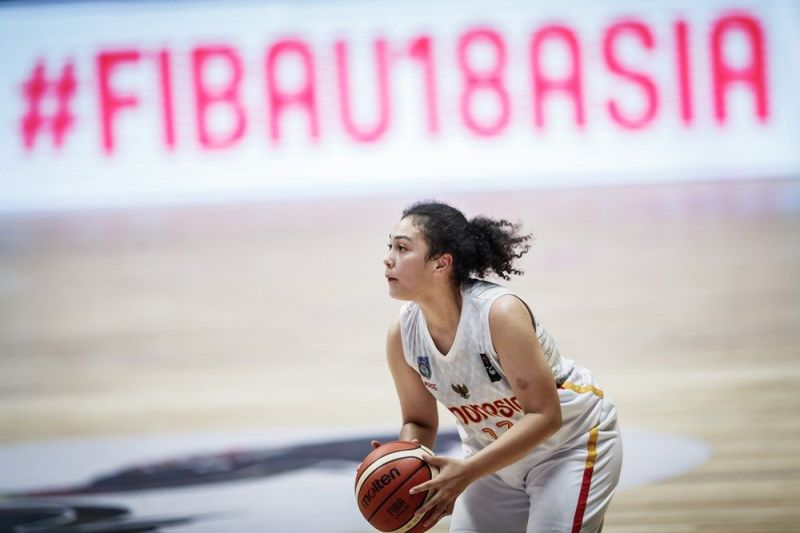 Tricia Mary Aoijs of Indonesia (Image Courtesy: FIBA)