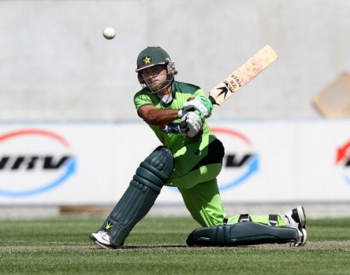 Mohammad Hafeez continued his fine form with the bat