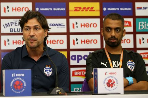 Cuadrat spoke to the media ahead of the meeting with Kerala Blasters (Photo:ISL)