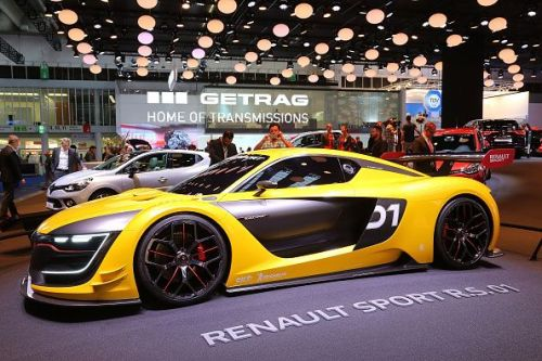 Renault Sport R.S. O1 being displayed at the 2015 IAA Frankfurt Auto Show