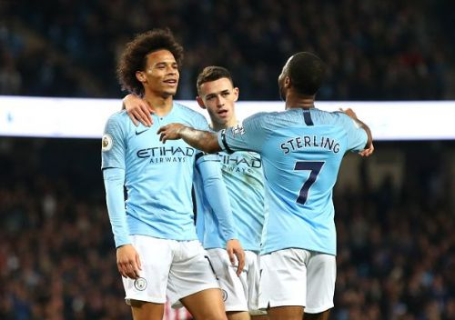 It was a cakewalk for the men in sky blue