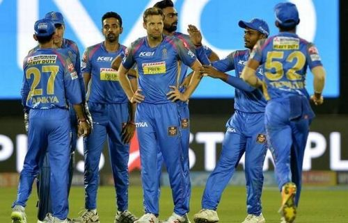 RR ended at the fourth position in the IPL 2018
