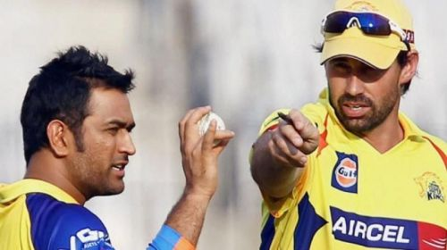 Dhoni and Stephen Fleming - The think tank of CSK