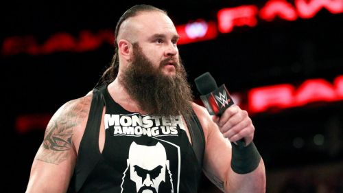 Braun Strowman seems to have gotten himself in trouble with management in WWE