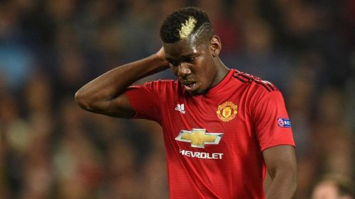 Pogba was poor in the first half.
